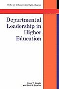 Departmental Leadership in Higher Education