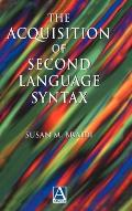 Acquisition of Second Language Syntax