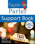 Facon de Parler 1 CD and Support Book Pack 4th Edition: French for Beginners