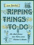 Ripping Things To Do the Best Games & Ideas From Childrens Books