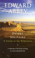 Desert Solitaire: A Season in the Wilderness Cover