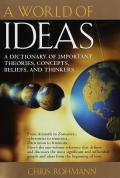 World Of Ideas A Dictionary Of Important Theor