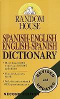 Random House Spanish English English Spanish Dictionary
