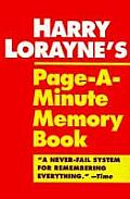 Harry Loraynes Page A Minute Memory Book