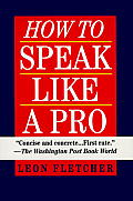 How to Speak Like a Pro Cover