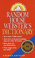 Random House Webster's Dictionary, Revised Edition Cover