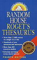Random House Roget's Thesaurus, Revised and Updated (4TH 01 Edition)