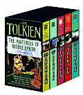 Histories Of Middle Earth 5 C Box Set MM by J. R. R. Tolkien