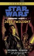 Coruscant Nights I: Jedi Twilight (Star Wars) Cover