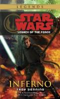 Star Wars: Legacy of the Force #06: Inferno Cover