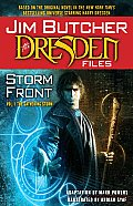 Dresden Files #01: Storm Front The Gathering Storm Cover