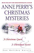 Anne Perry's Christmas Mysteries: Two Holiday Novels Cover
