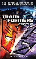 Transformers: Exodus: The Official History of the War for Cybertron Cover