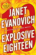 Explosive Eighteen: A Stephanie Plum Novel Cover