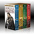 A Song of Ice and Fire Boxed Set (A Game of Thrones, A Clash of Kings, A Storm of Swords, A Feast for Crows) Cover