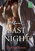 About Last Night: A Loveswept Contemporary Romance Cover