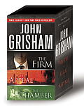 John Grisham 3-Copy Boxed Set: The Firm, the Appeal, the Chamber Cover