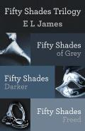 Fifty Shades Trilogy Bundle: Fifty Shades of Grey; Fifty Shades Darker; Fifty Shades Freed Cover