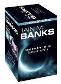 Iain M. Banks: Consider Phlebas, The Player Of Games & Use Of Weapons by Iain M. Banks