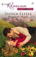 Harlequin Romance Large Print #761: Promise of a Family