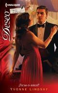 Harlequin Deseo #855: Farsa O Amor