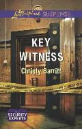 Key Witness (Love Inspired Suspense)