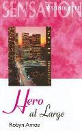Hero at Large (Large Print)