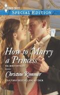 Harlequin Special Edition #2294: How to Marry a Princess