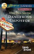 Dangerous Impostor (Love Inspired Large Print Suspense)