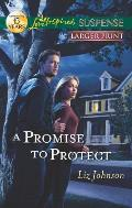 A Promise to Protect (Love Inspired Large Print Suspense)