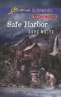 Safe Harbor (Love Inspired Large Print Suspense)