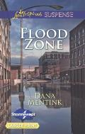 Flood Zone (Love Inspired Large Print Suspense)