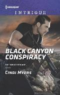 Harlequin Intrigue #1590: Black Canyon Conspiracy