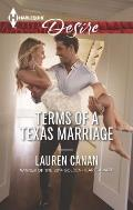 Harlequin Desire #2358: Terms of a Texas Marriage