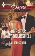 Harlequin Desire #2386: Lone Star Baby Bombshell