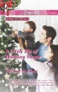 Harlequin Romance Large Print #4400: A Little Bit of Holiday Magic