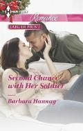 Harlequin Romance Large Print #4403: Second Chance with Her Soldier