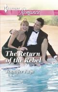 Harlequin Romance Large Print #4433: The Return of the Rebel