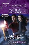 Harlequin Large Print Intrigue #1366: Secret Assignment Cover