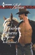 Harlequin Blaze #858: A Cowboy Returns