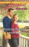Restoring His Heart (Love Inspired Large Print)