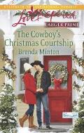 The Cowboy's Christmas Courtship (Love Inspired Large Print)