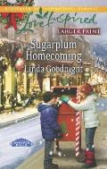 Sugarplum Homecoming (Love Inspired Large Print)