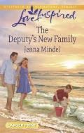The Deputy's New Family (Love Inspired Large Print)