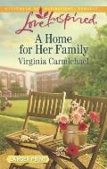 A Home for Her Family (Love Inspired Large Print)