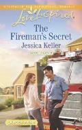 The Fireman's Secret (Love Inspired Large Print)