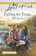 Falling for Texas (Love Inspired Large Print)