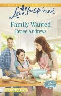 Family Wanted (Love Inspired Large Print)