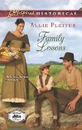 Family Lessons (Love Inspired Historical)