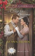 A Hero for Christmas (Love Inspired Historical)